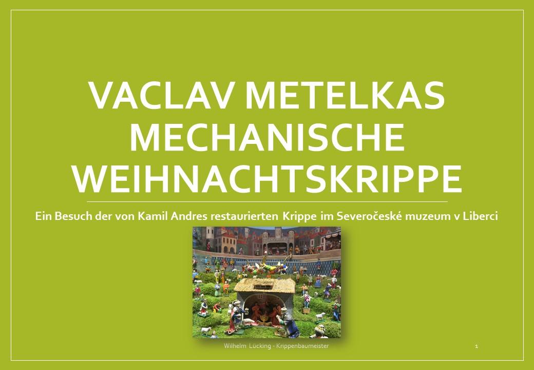 Krippe Betlemy szopka metelka mechanische Krippe krippenverein Osnabrück