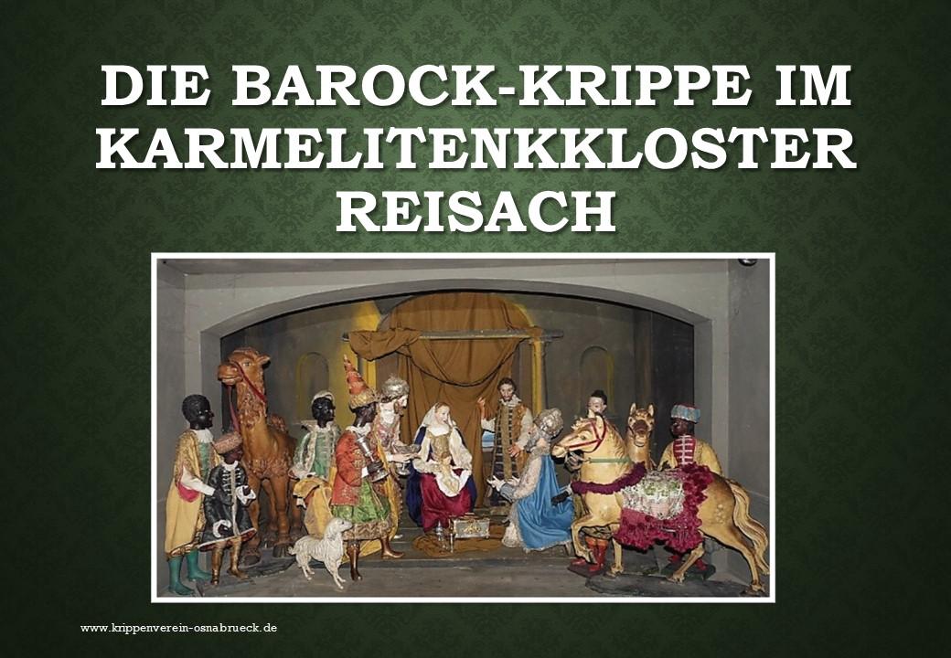 Barockkrippe Reisach Klosterkrippe Kloster nativity betlemy presepe belen navidad