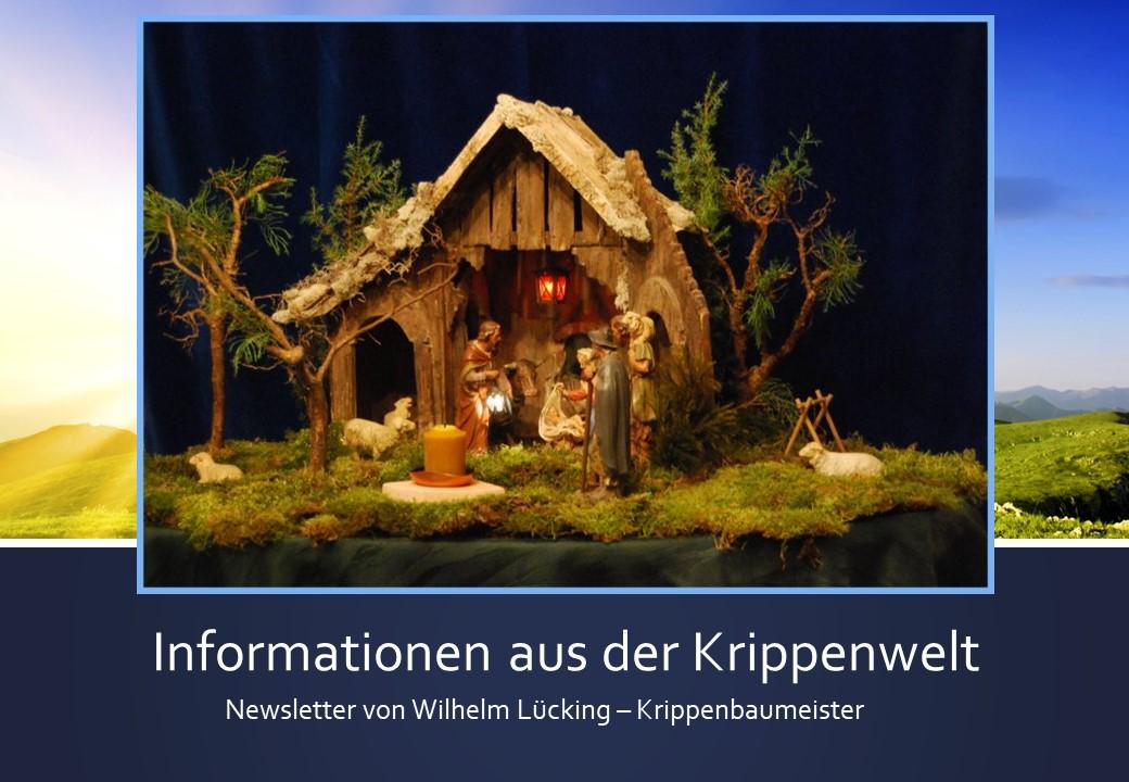 Informationen Krippe Krippenverein Krippenausstellung Krippenschau nativity
