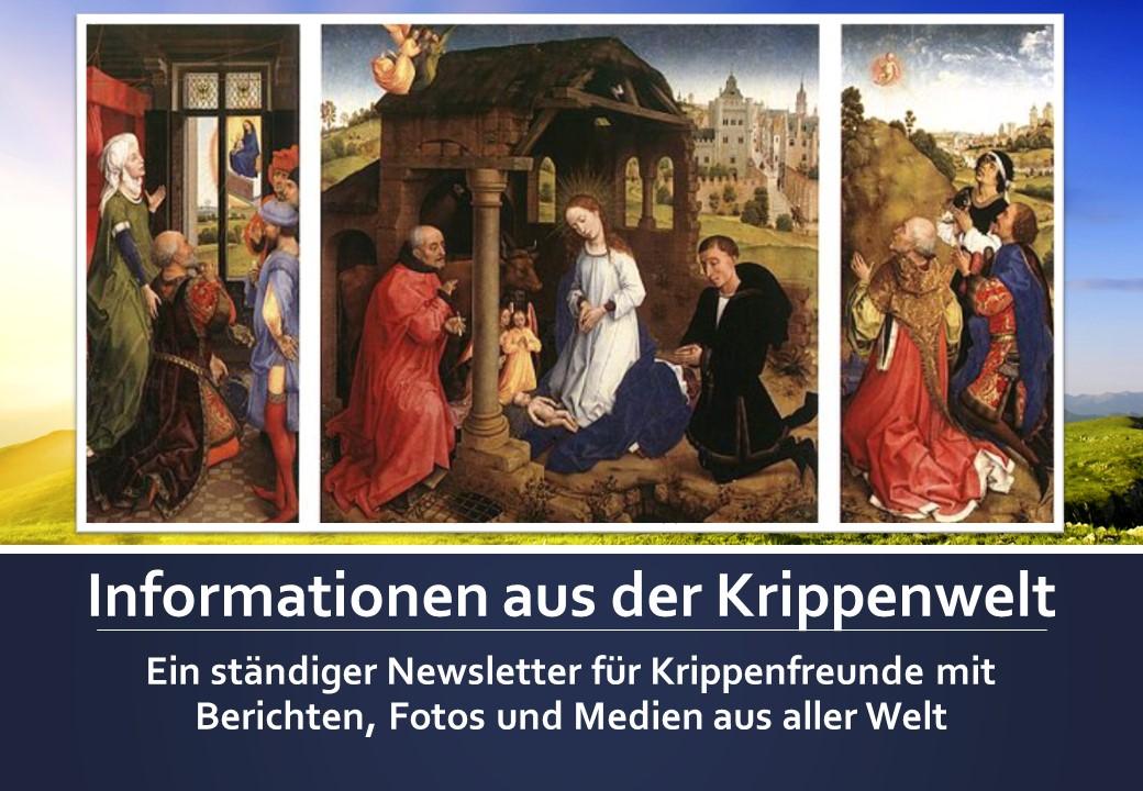 Krippenschau Krippenbau Krippenstall Krippenbild Krippenschnitzer Krippenverein