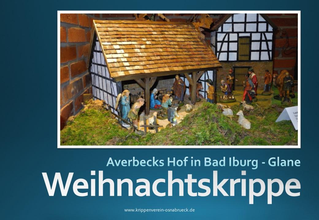 Krippe Norbert Grave Averbecks Speicher Krippenausstellung Krippenfreunde Osnabrück Krippenverein