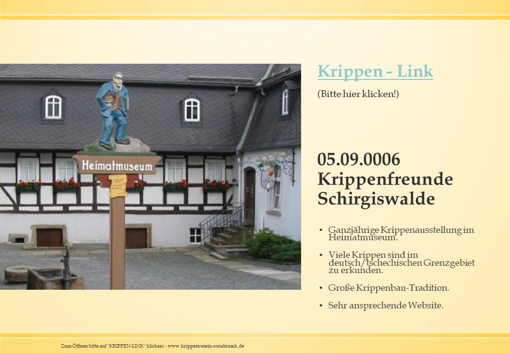 Schirgiswalde Böhmen Sudeten Krippe Krippenverein Krippenfreunde Mechanische Krippe