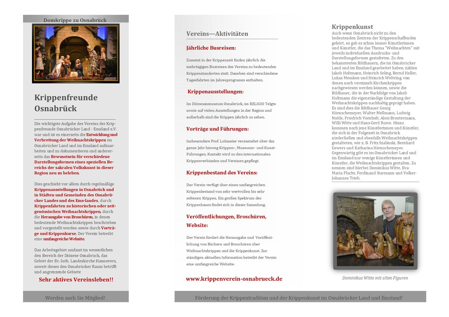 Osnabrück Krippe Krippenkunst Krippenausstellung Kerststal Julkribbe nativity manger scene szopka belen presepe