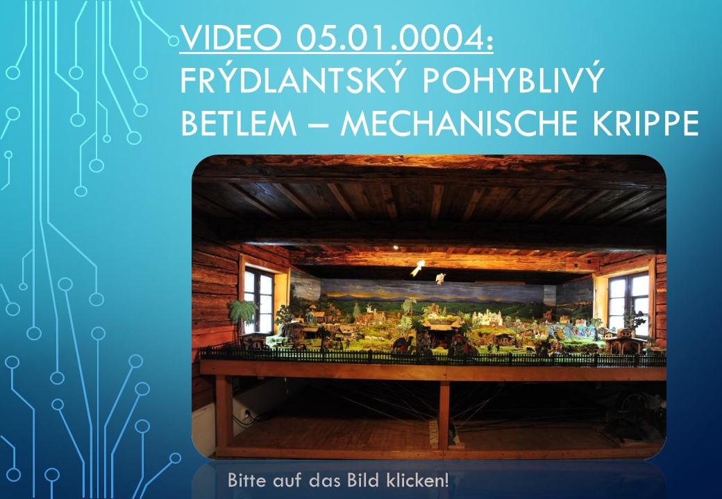 Mechanische Krippe Böhmische Krippe Krippenfreunde Krippenverein Krippenschau