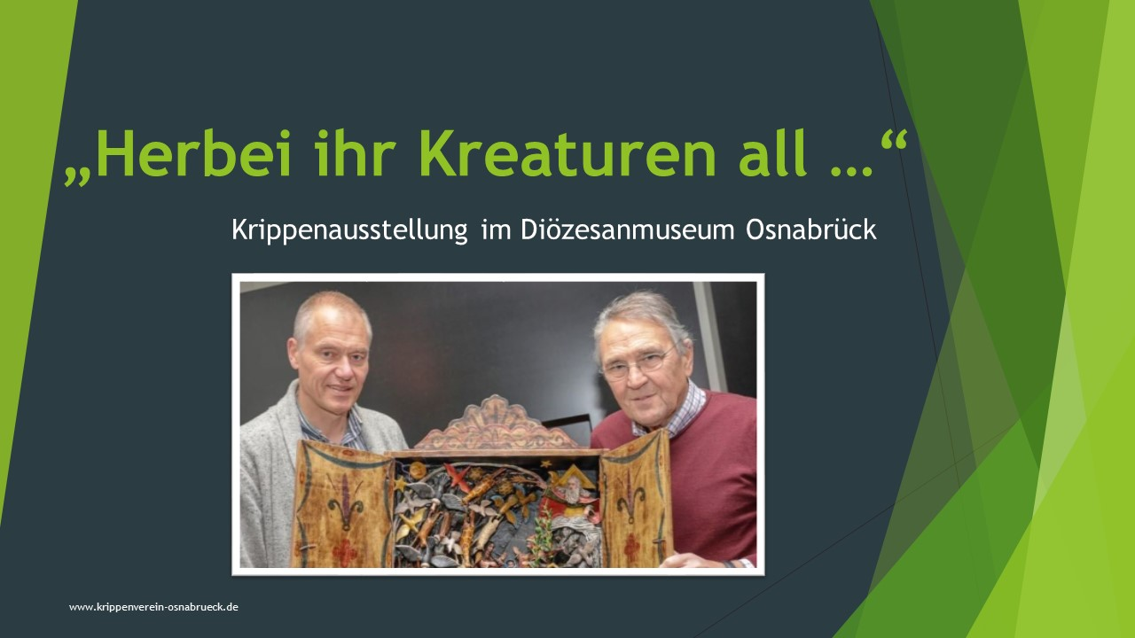 Diözesanmuseum Osnabrück Krippenfreunde Krippenverein Weihnachtskrippe
