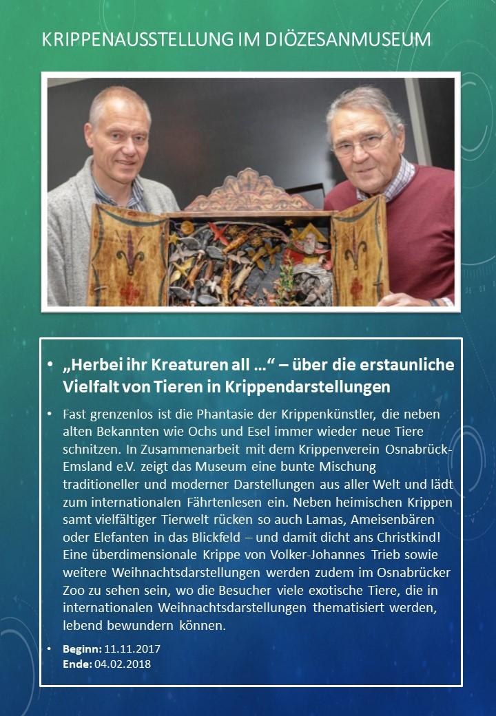 Krippenausstellung Di�zesanmuseum Osnabr�ck