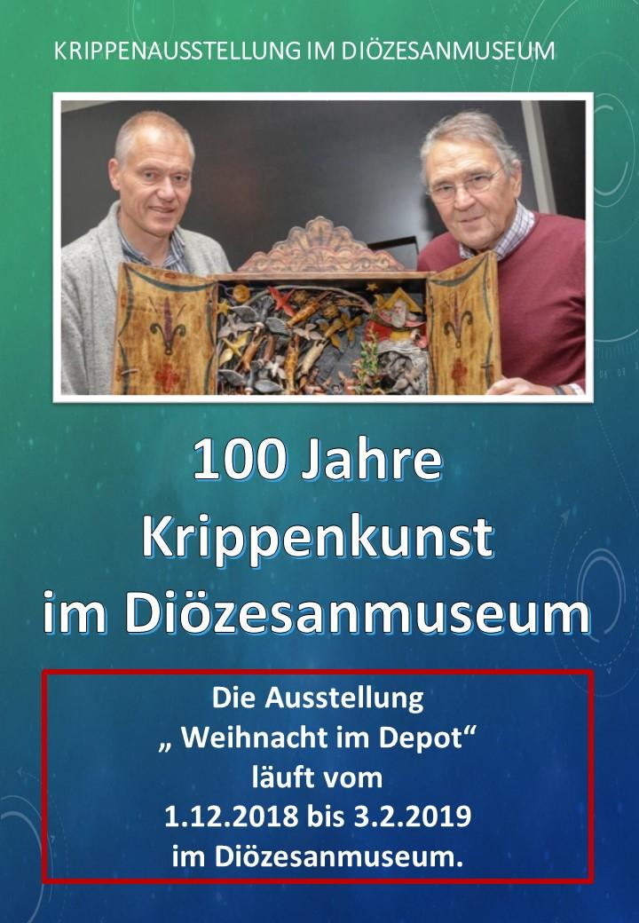 Krippe Diözesanmuseum Osnabrück Krippenausstellung Krippenschau Krippenverein Krippenfreunde