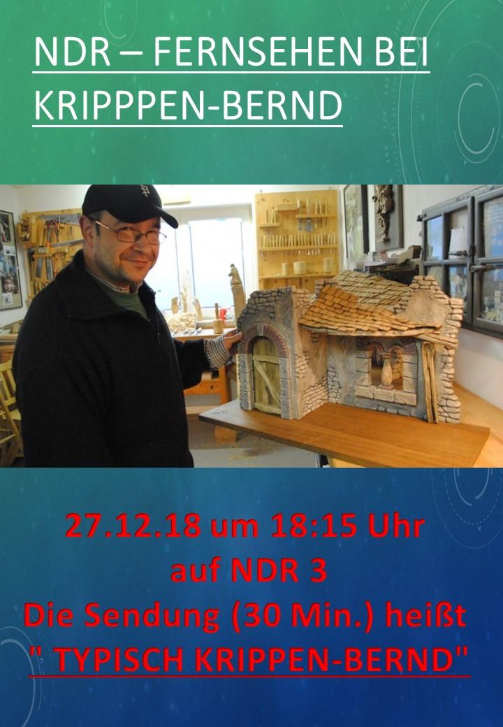 Krippen Bernd Philippskötter Glandorf Krippenausstellung Fernsehen Sendung Osnabrück