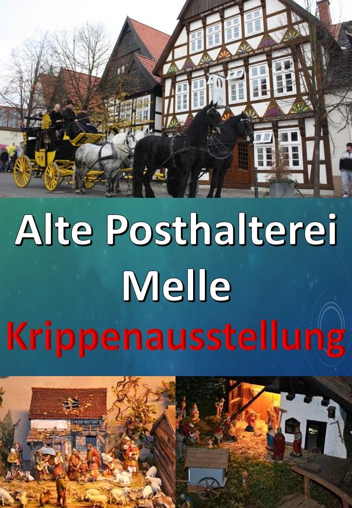 Posthalterei Melle Krippenausstellung Heinz Grave Krippenverein Osnabrück Krippenfreunde Weihnachtskrippe