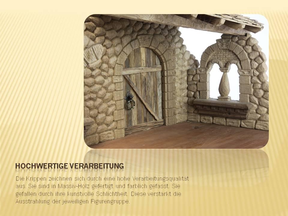 Krippenbau Holzbildhauer Schnitzer Krippe Weihnacht Krippenfiguren