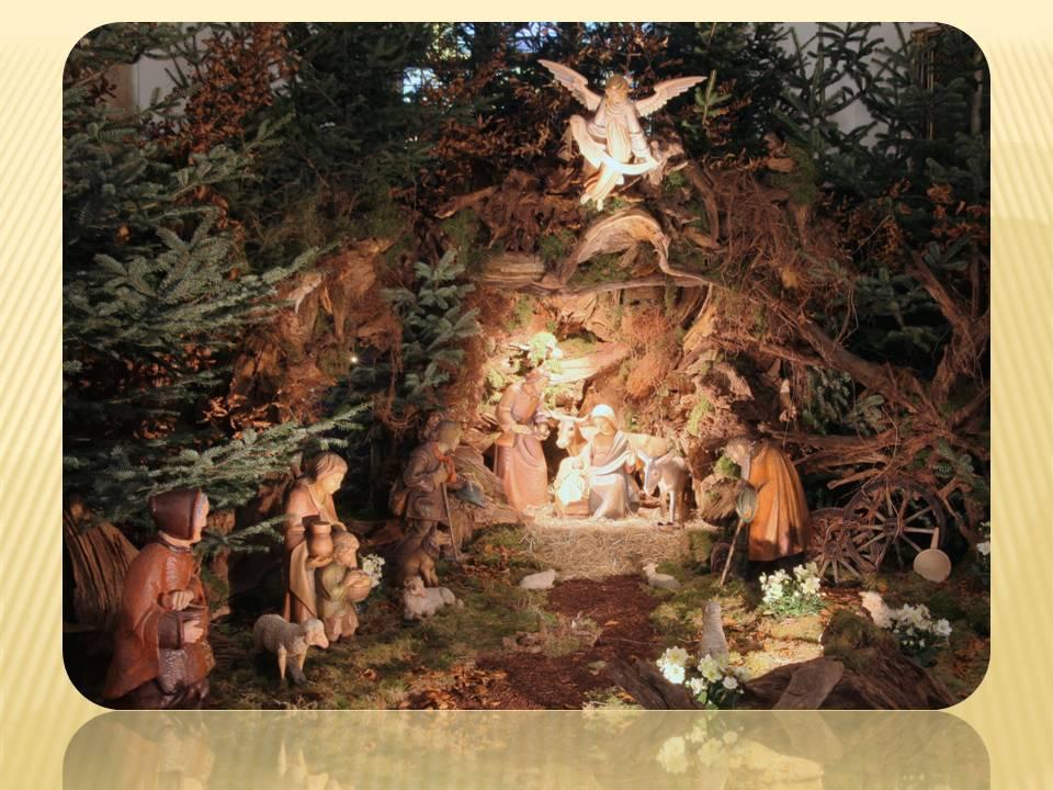 Kirchenkrippe krippe Weihnachtskrippe Glandorf Krippenteam Krippenfiguren Landschaftskrippe Wurzelkrippe