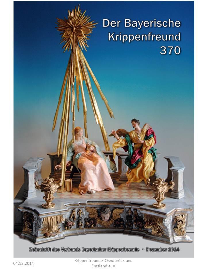 Bayerischer Krippenfreund Krippenverband Landesverband Krippenfreunde Bayern