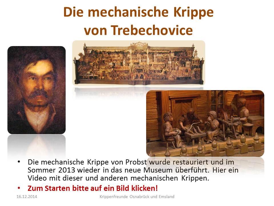 Mechanische Krippe Probst Albendorf Krippenberg Weihnachtsberg Trebechovice