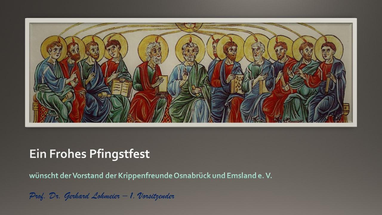 Frohe Pfingsten Krippenfreunde Osnabrück