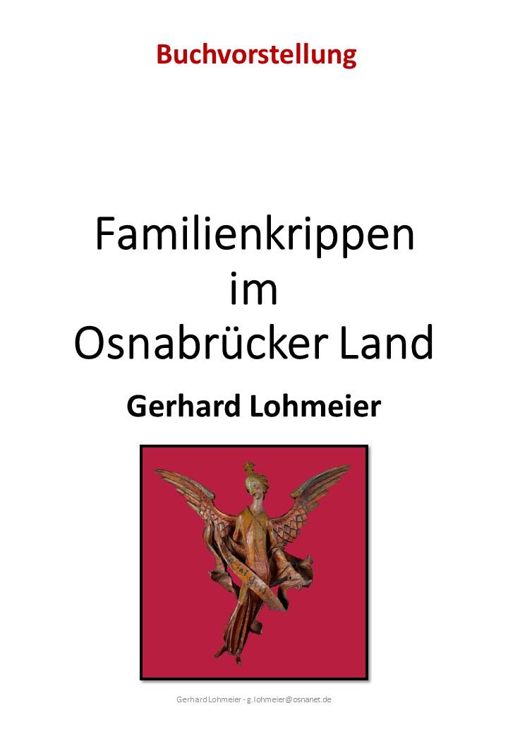 Krippenbuch Familienkrippen Krippenverein Krippenfreunde Osnabrueck